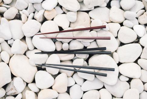 輪島塗 五角形乾漆箸